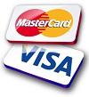 MasterCard & VISA icon