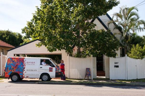 Moving Canvas Art Gallery - 507 Stafford Road, Stafford, Brisbane, Australia 4053