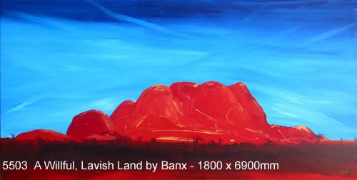 A Wilful, Lavish Land by Banx MC5503