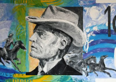 Ten Bux - Banjo Paterson (Andrew Barton) by Banx 1380x650mm MC6083