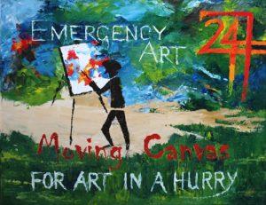 Emergency Art by Banx 750x600mm MC6633