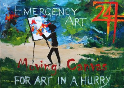 Emergency Art by Banx 750x600mm MC6633