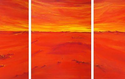 Far Horizons - triptych by Banx 3@600x750mm MC5946