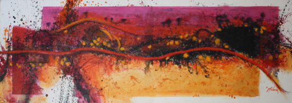 Kaleidoscope Pink by Maryika Welter MC6302