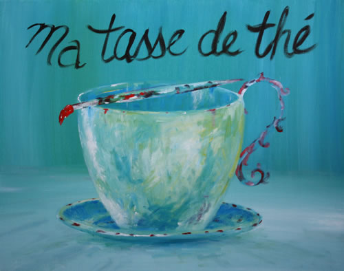 My Cup of Tea Too by Banx - 750 x 600mm - MC6380