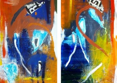 No Boundaries - diptych by Anne Foster 2@600x1200mm MC6041
