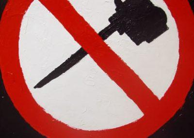 No Leaf Blowers by Banx 600x750mm MC6066