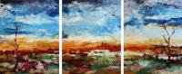 Outback Odyssey - triptych by Banx MC6210
