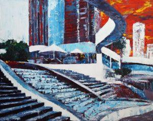 Riverside Centre by Banx 750x600mm MC6358