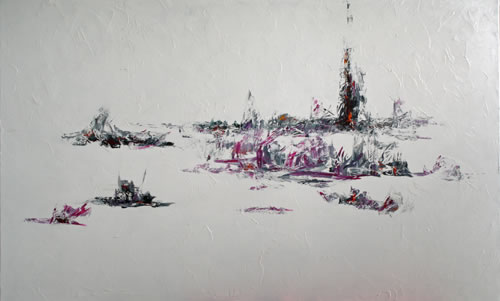 Snow Field by Banx 1500x900mm MC6191