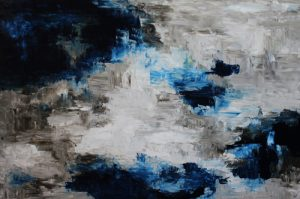 Midnight Sky by Banx 1500x1000mm MC3737