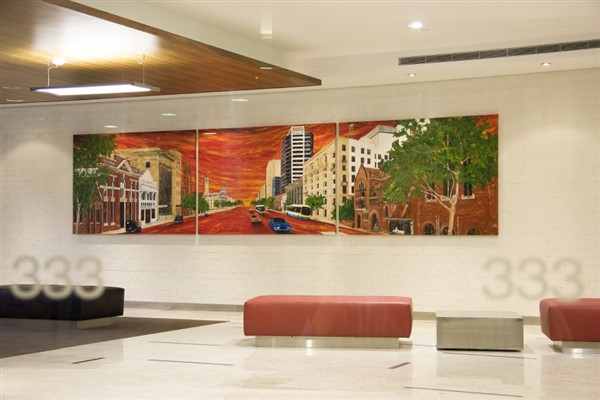 333 Ann Street, Brisbane - polyptych by Banx - 3@2000x1400mm - MC5831