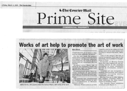 Courier Mail - Prime Site 4.3.05