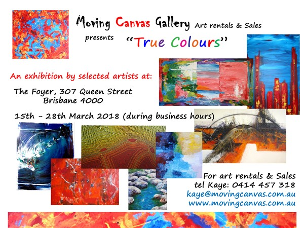 True Colours Exhibition Invite March 2018
