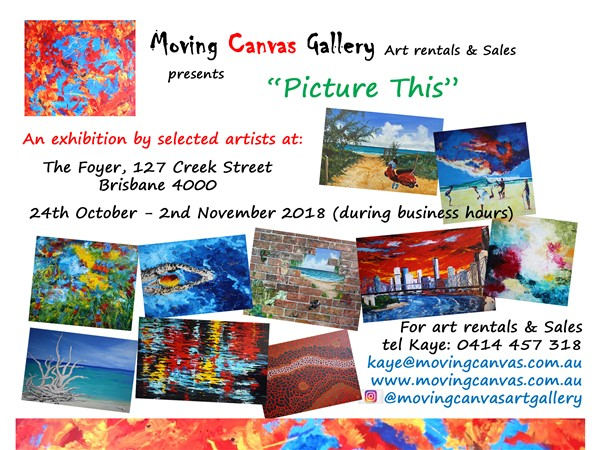 Picture This - Exhibition Invitation - October 2018